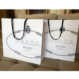 Prada Shopping Bags (2)